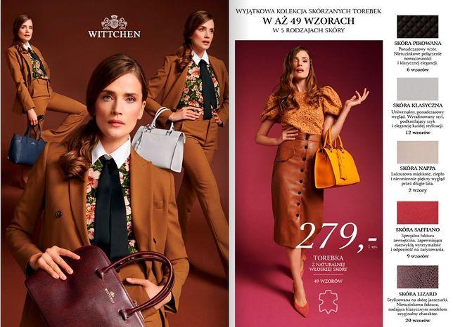 Hit sprzedaży znowu w Lidlu. Od 12 października wracają skórzane torby i plecaki Wittchen