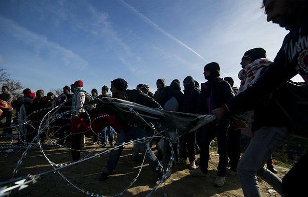 Zamieszki na granicy grecko-macedońskiej. Imigranci ekonomiczni atakują uchodźców