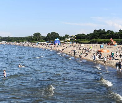 Pomorskie. Alert RCB: Zakaz zbliżania się do plaży w Gdańsku i pow. nowodworskim / foto ilustracyjne