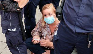 Warszawa. Magdalena Filiks z KO o akcji policji podczas protestu