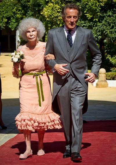 Panna nie taka młoda - 85-letnia księżna znów mężatką!