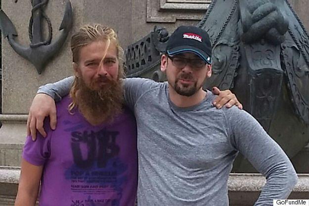 Anton Pilipa (z lewej) z bratem Stefanem