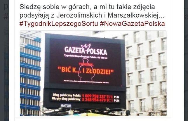 """Nie będzie """"Bić k...y i złodziei"""". MZA usuwa spoty. """"GP"""": będzie wniosek do prokuratury"""