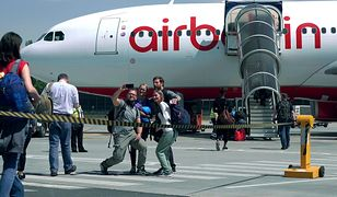 Linie Air Berlin ogłosiły upadłość 15 sierpnia 2017 r.
