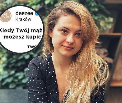 Kontrowersyjna reklama marki Deezee. Martyna Kaczmarek twierdzi, że nawiązuje do przemocy ekonomicznej