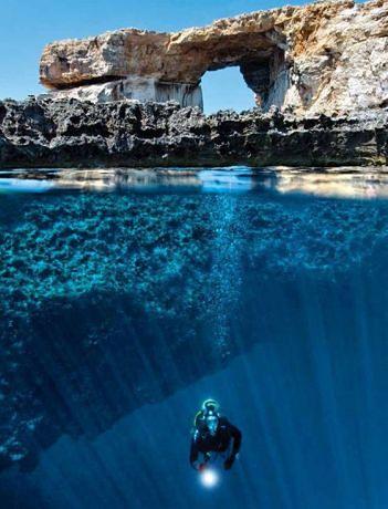 Nurkowanie na Gozo to nie lada atrakcja