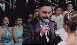 W czasie ślubu przyznał, że kocha kogoś innego. Doprowadził pannę młodą do łez