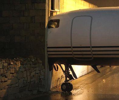 Samolot należy do brytyjskiego multimilionera Michaela Ashcrofta