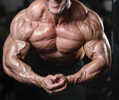 Dzięki testosteronowi mężczyzna może mieć atrakcyjne mięśnie