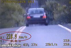 Strzelce Krajeńskie: jechał 220 km/h, łamał przepisy i nie dostał punktów karnych