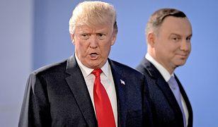 USA i Polska: konferencja w Warszawie. Iran oburzony brakiem zaproszenia, a Trump i Duda w lokalnych gazetach