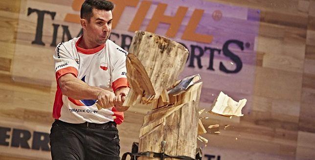 Jason Wynyard z Nowej Zelandii ponownie Mistrzem Świata STIHL TIMBERSPORTS