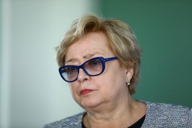 Małgorzata Gersdorf nie zgadza się z krytyką ministra Szczerskiego