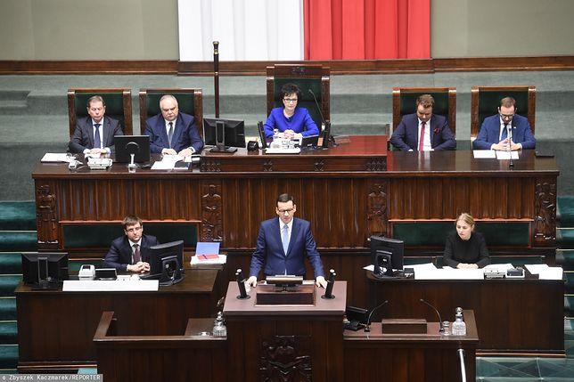 Expose Mateusza Morawieckiego trwało 75 minut