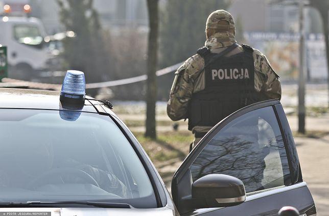Akcja CBŚP w Gniewoszowie