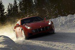 Ferrari w krainie lodu