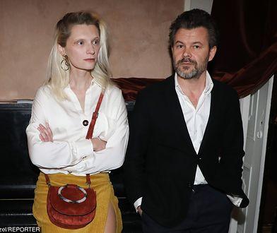 Jacek Braciak i Agata Buzek