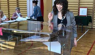 Natalia Kukulska zagłosowała w wyborach do Parlamentu Europejskiego