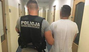 Jeden z mężczyzn zatrzymanych przez policjantów