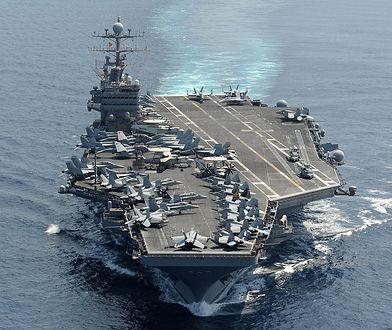 Ameryka oddała strzał ostrzegawczy w kierunku okrętu Iranu