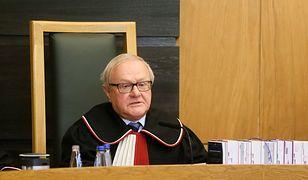 Sędzia Stanisław Biernat odpowiada prezes Julii Przyłębskiej. Pyta o prezent