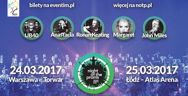 Night of the Proms – wyjątkowe muzyczne show łączące muzykę rozrywkową z muzyką klasyczną – już w marcu w Łodzi i w Warszawie