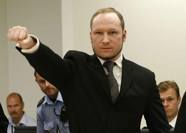 Służba więzienna alarmuje: Breivik buduje zza krat siatkę terrorystyczną