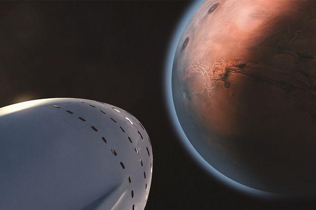 Mars: wizualizacja podróży na Czerwoną Planetę