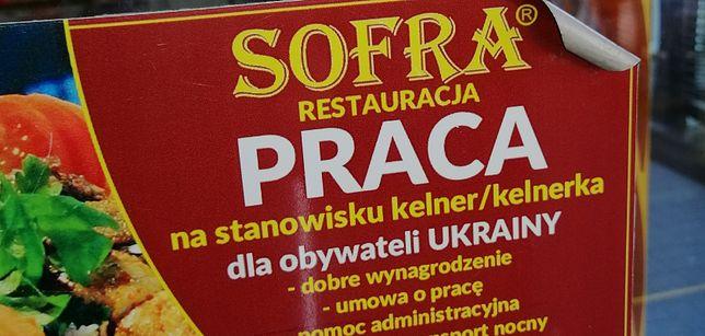 """Praca w restauracji, ale tylko dla Ukraińca. """"To nie jest żadna dyskryminacja"""""""