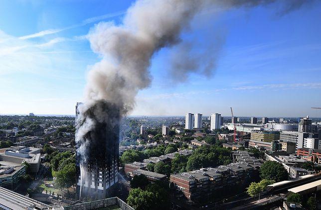 Wzrosła liczba ofiar pożaru w Londynie