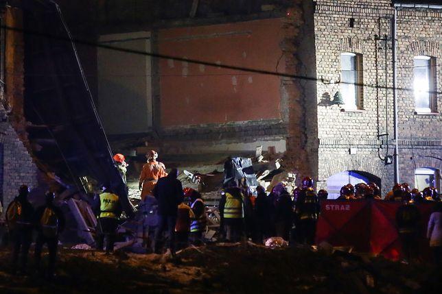 Zawalona kamienica w Sosnowcu. Nie żyje jedna osoba