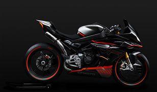 CFMoto zapowiada model sportowy SR-021. Chiński motocykl zwraca uwagę wyglądem