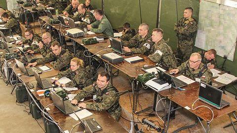 Gronost@j-15 – trwają największe w historii Wojska Polskiego wirtualne manewry wojskowe