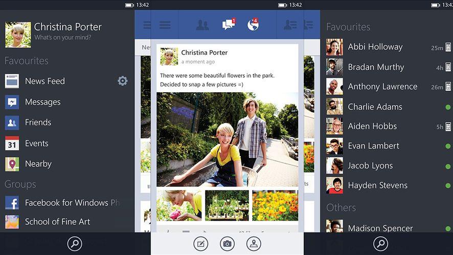 Odświeżony Facebook trafia wreszcie na Windows Phone 7.8