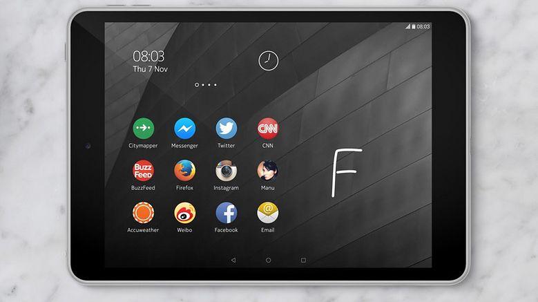 W czarnym pudełku ukryty był tablet Nokii z Androidem