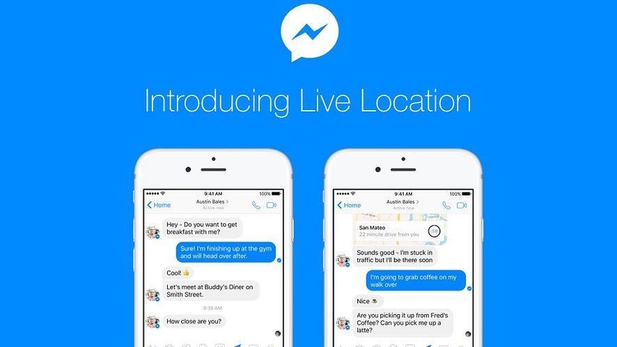 Facebook kopiuje Mapy Google: Messenger z bieżącą lokalizacją