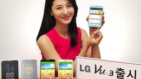 Smartfon LG Vu 3 z ekranem o proporcjach 4:3