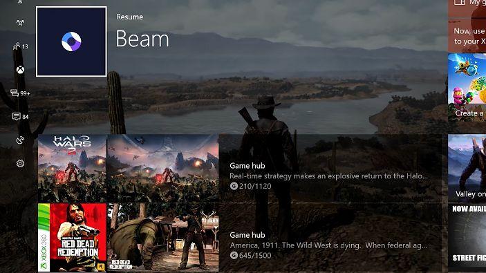 Xbox One z dużą aktualizacją: usprawniony interfejs i usługa Beam