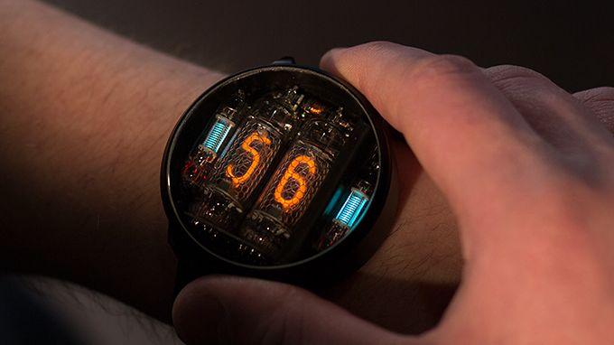 Zegarek NIWA to lampy nixie zamiast nudnego wyświetlacza