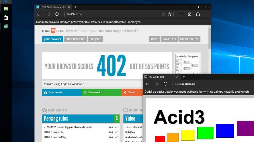 Microsoft Edge zostanie wyposażony w podgląd kart