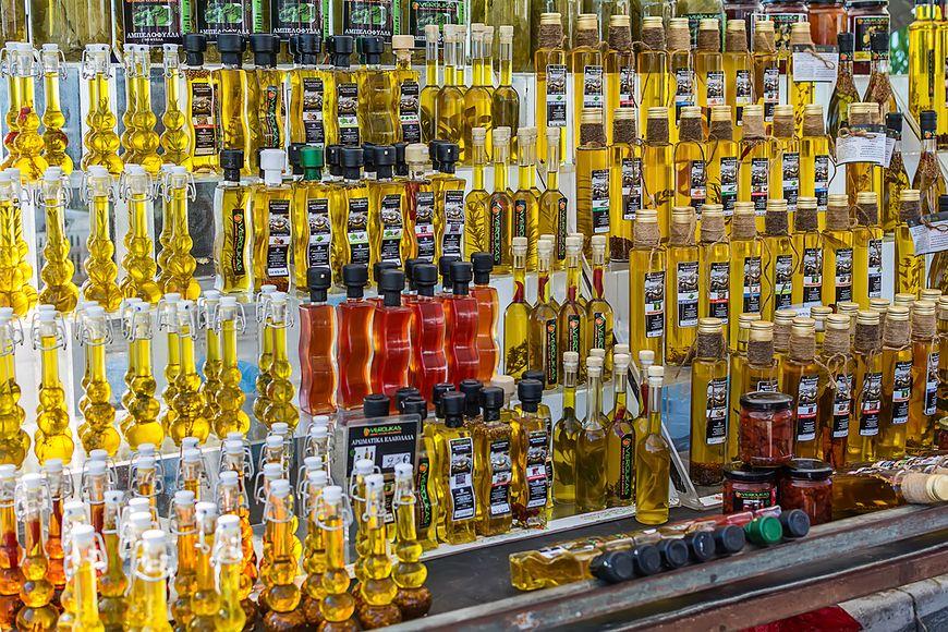 Różne rodzaje oliwy z oliwek