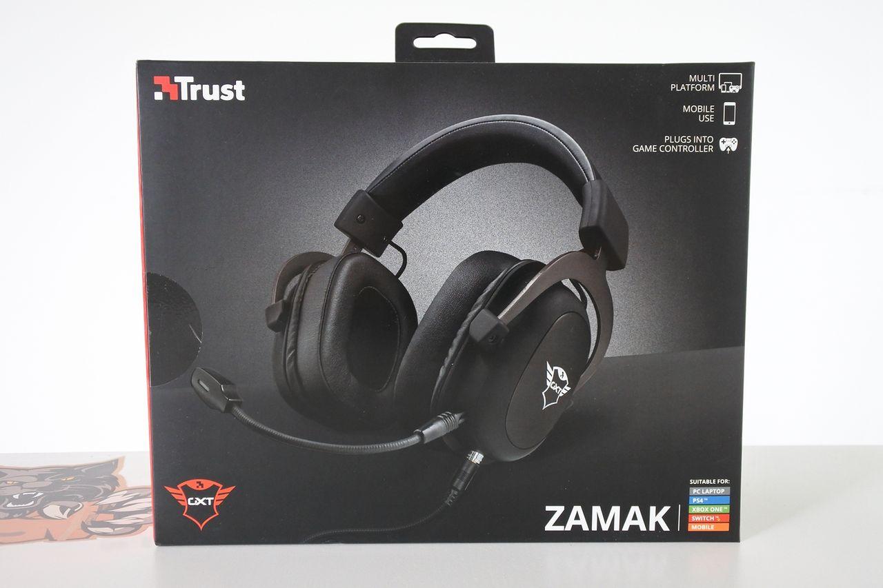 Trust GTX Zamak słuchawki tylko dla graczy...