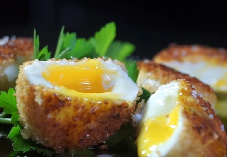 Przepis na panierowane jajka. Niezwykle chrupiące i smaczne