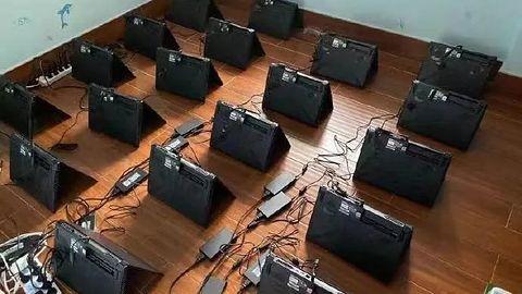 Setki laptopów z RTX 3060 jako koparki kryptowalut. To zaskakująco dobre rozwiązanie