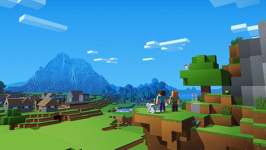 Zrzut ekranu z Minecraft, fot. Materiały prasowe