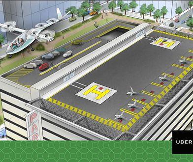 Nowy plan Ubera na korki w miastach. Latające samochody