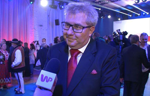 Czarnecki zdradza gdzie był Jarosław Kaczyński w czasie ogłaszania wyniku wyborów
