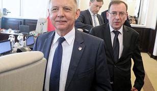 Marian Banaś na posiedzeniu Rady Ministrów