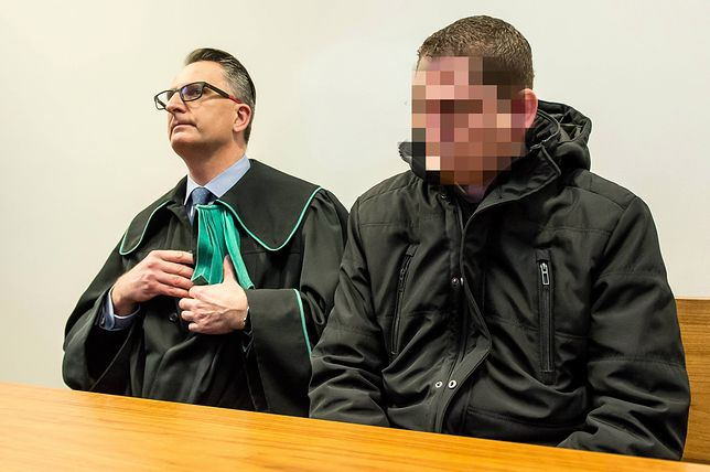 Wrocław. Mike S. to niemiecki oficer policji, został skazany na 6 miesięcy w zawieszeniu na 2 lata (zdj. arch.)