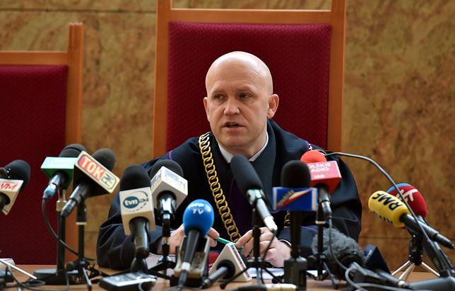 Kraków. Sędzia Dariusz Mazur traci ważne stanowisko